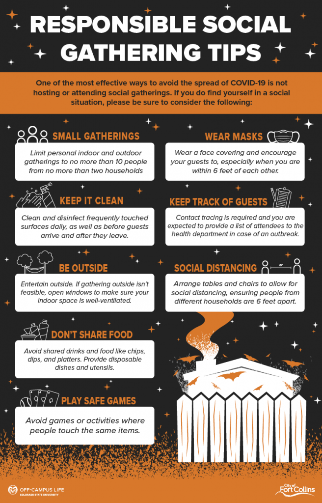 responsible social gathering tips